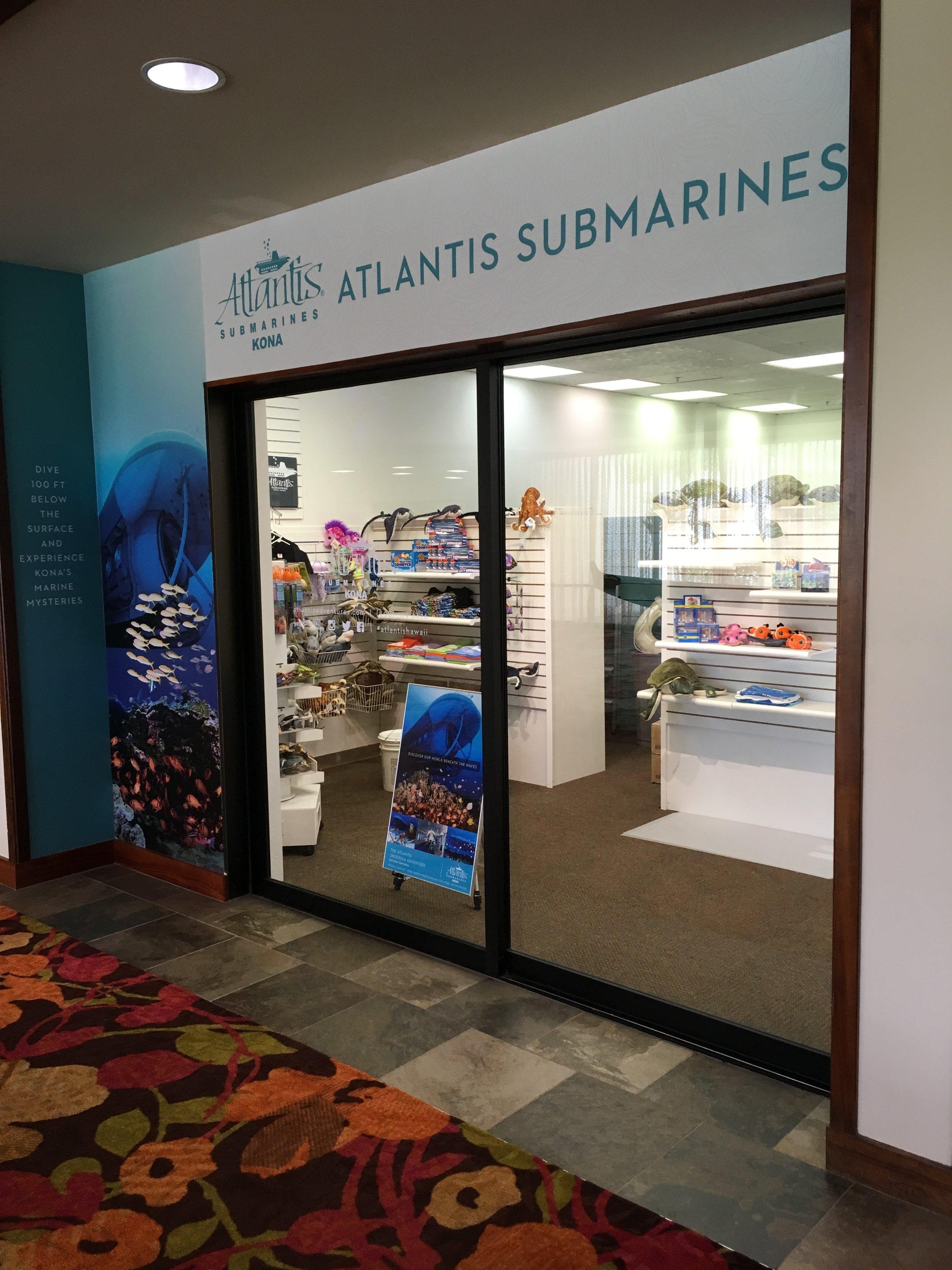 Wall Vinyl  - Atlantis Submarine - Kamehameha's Kona Beach Hotel
