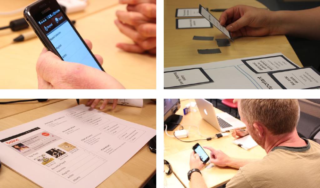 Participatory design session
