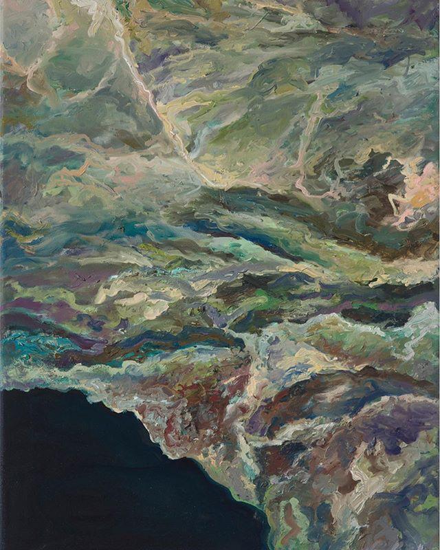 Burn scar: Ventura and Santa Barbara counties, California Nov 2017 - Dec 2017 Oil on canvas, 24''x18'' #NATURALCHANGE - - #nasaearth #nasa #imagesofchange #oiloncanvas #oiloncanvaspainting #abstrakt #artcollectors #bayareaartist #artsy #artcollector #artlover #fineart #instagramart #instaartsy #femaleartist #artistsofinstagram #artstudio #bestofbayarea #buylocalart #instaart #travelingartist #sfartist #instaarthub #mixedmediaartist #sanfranciscoartgallery #oilpainter #artnerd #sfartscene #sanfranciscoart