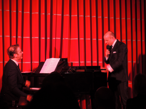 With Harry the Piano at The Crazy Coqs