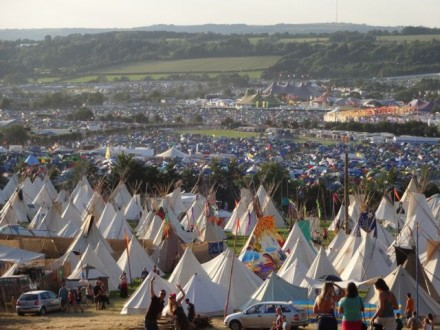 Glastonbury 2014 site