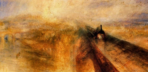 JMW Turner, Rain, Steam and Speed - The Great Western Railway