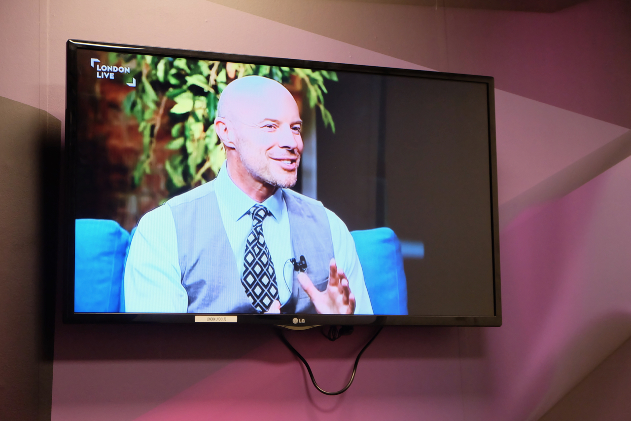 Gary Williams on London Live talking about Treasure Seeker.