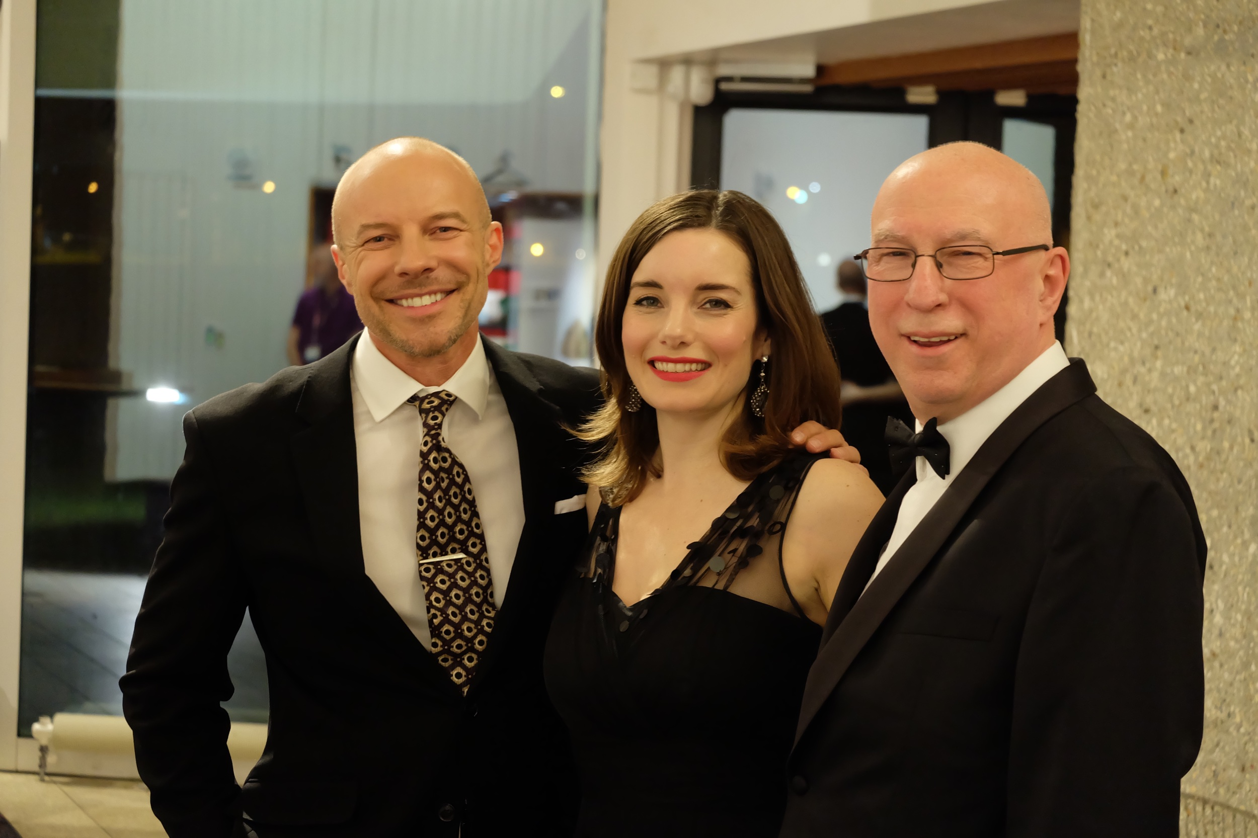 With Ken Bruce and Rebecca Trehearn for Friday Night is Music Night