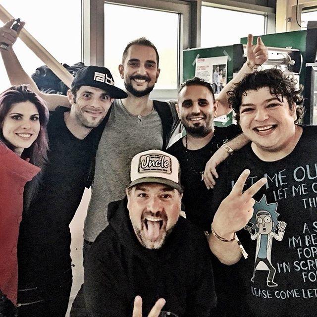 Few weeks back at #somnambul had a really good time with @daydinmusic  @djfabiofusco @ranji_music @rikigms @marsyrobi and all the great people on the dancefloor!  #krama #kramamusic #theK #progressivetrance #spintwistrecords #party #partymusic #Hamburg #germany #backstage