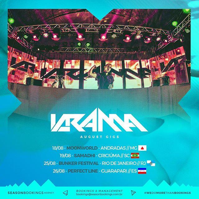 It's time for #made_in_dancefloors Brazil!  #seasonbookings #sbontour #wedomorethanbookings