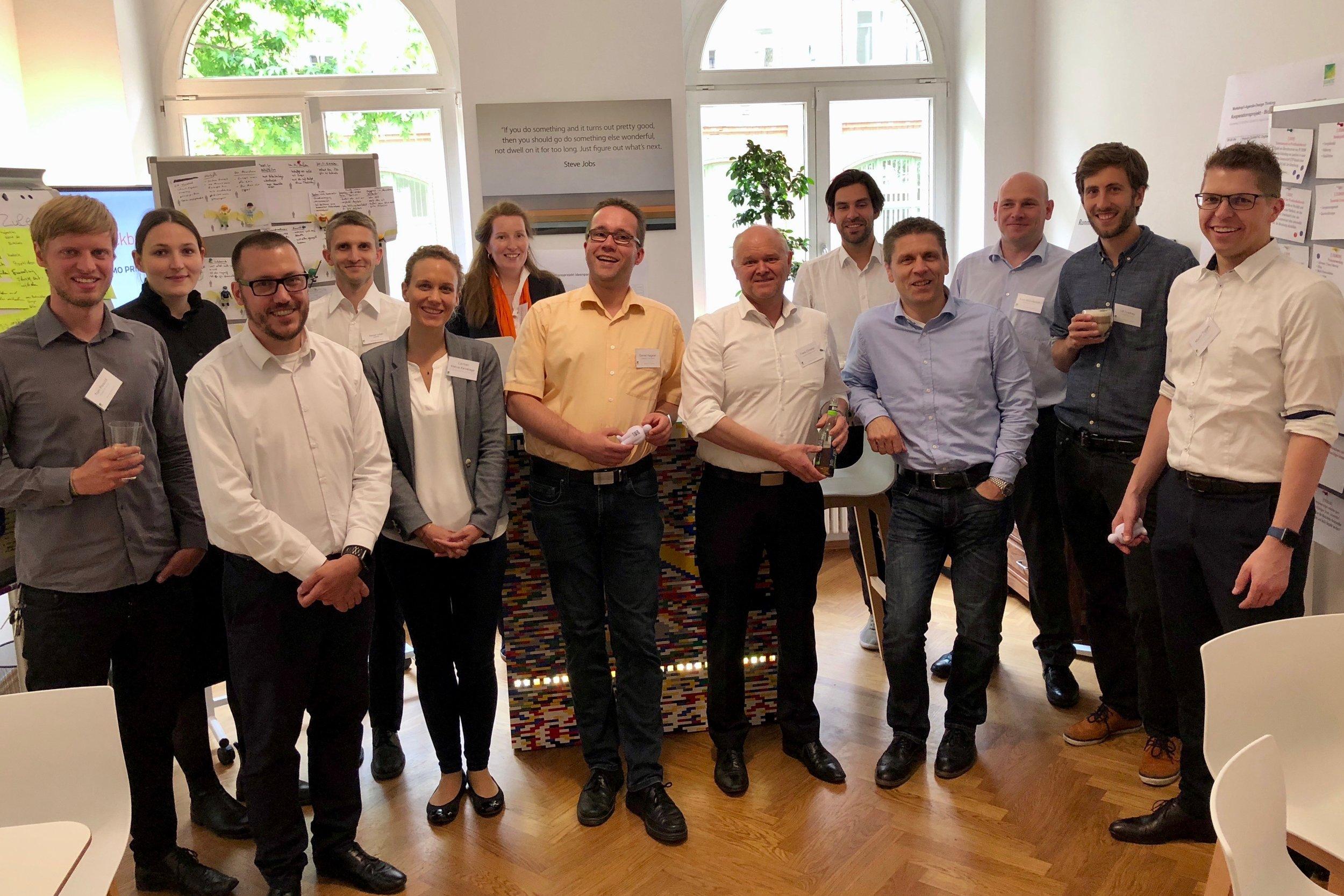 Partner des ersten Workshoptags der Blockchain-Partnerschaft