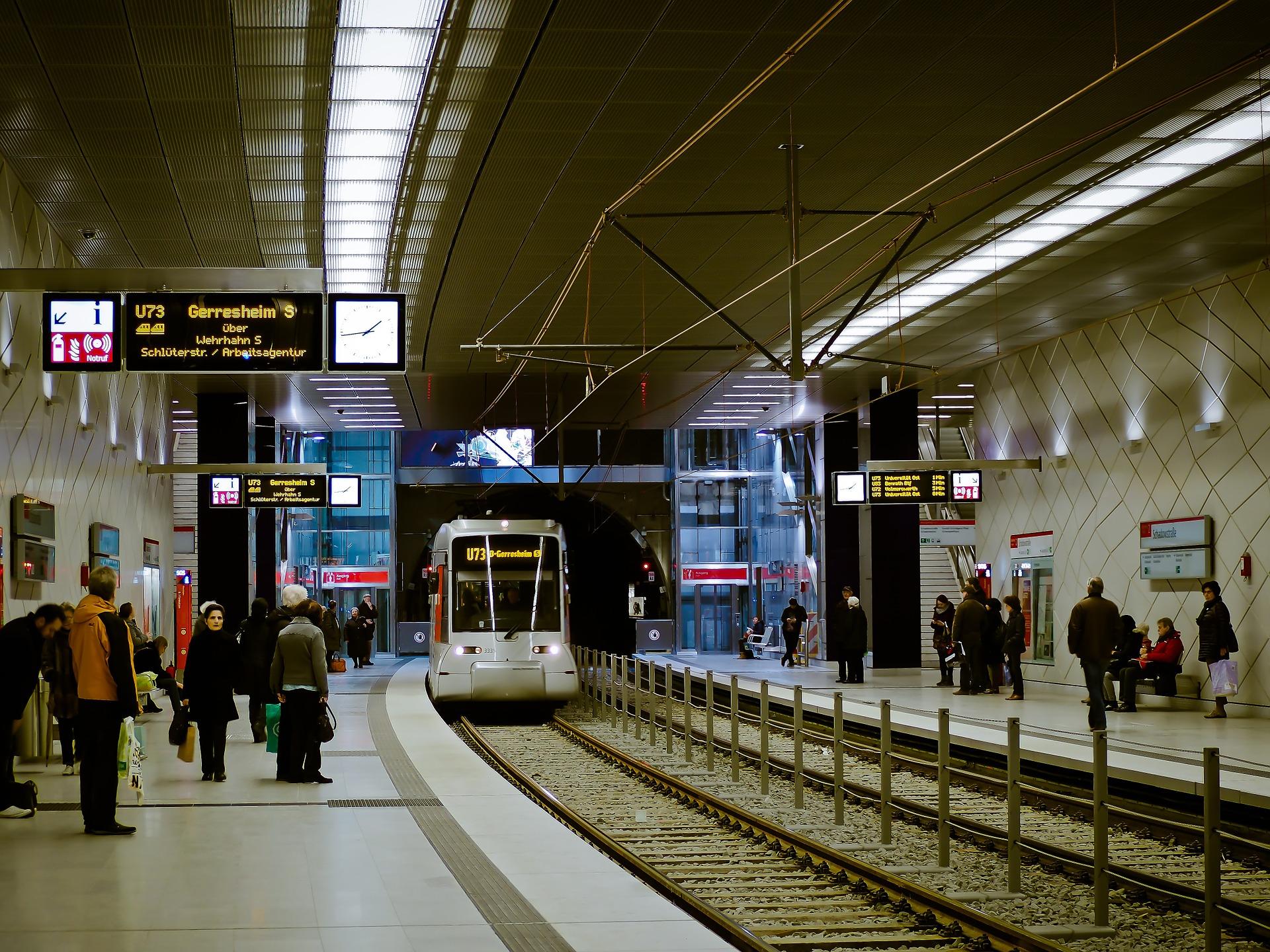 U-Bahnhof Schadowstraße in Düsseldorf