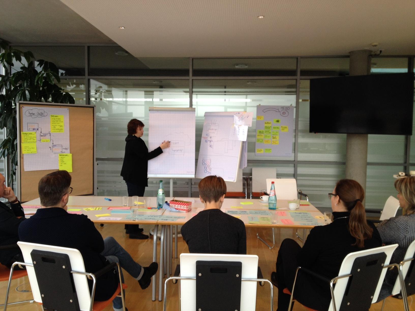 Strategieworkshop im Trainingszentrum Waldheim