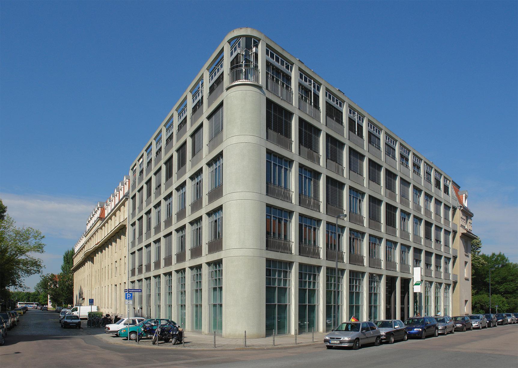 Unternehmenssitz der AOK Plus in Dresden