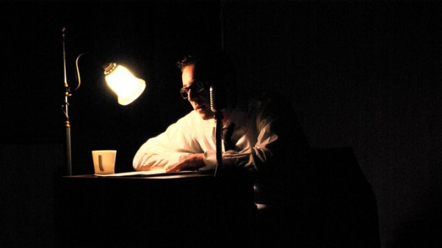 A still captured of dupuy reading at Word Virus