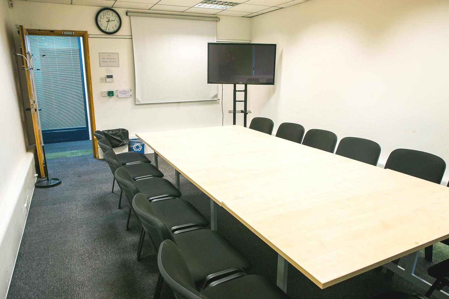Meeting Room 4 - Maximum seating capacity100Boardroom / Theatre14 / 21