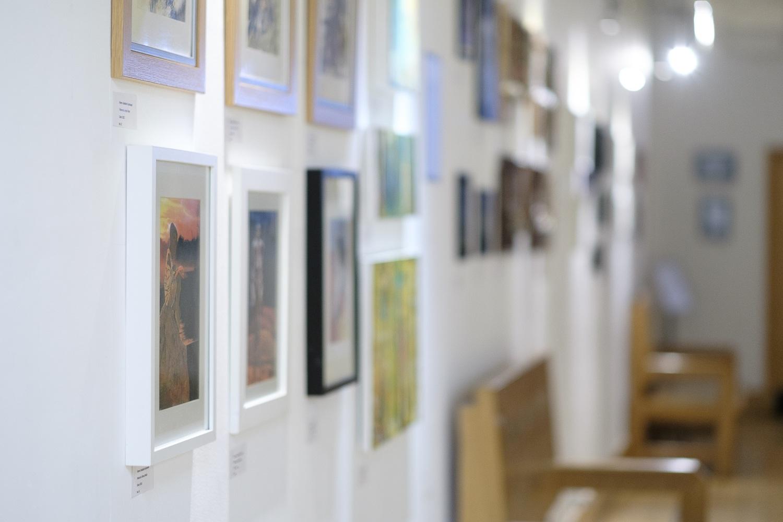 Exhibiton hall -