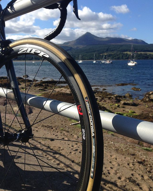 Rollin' on Arran - beautiful day for it!