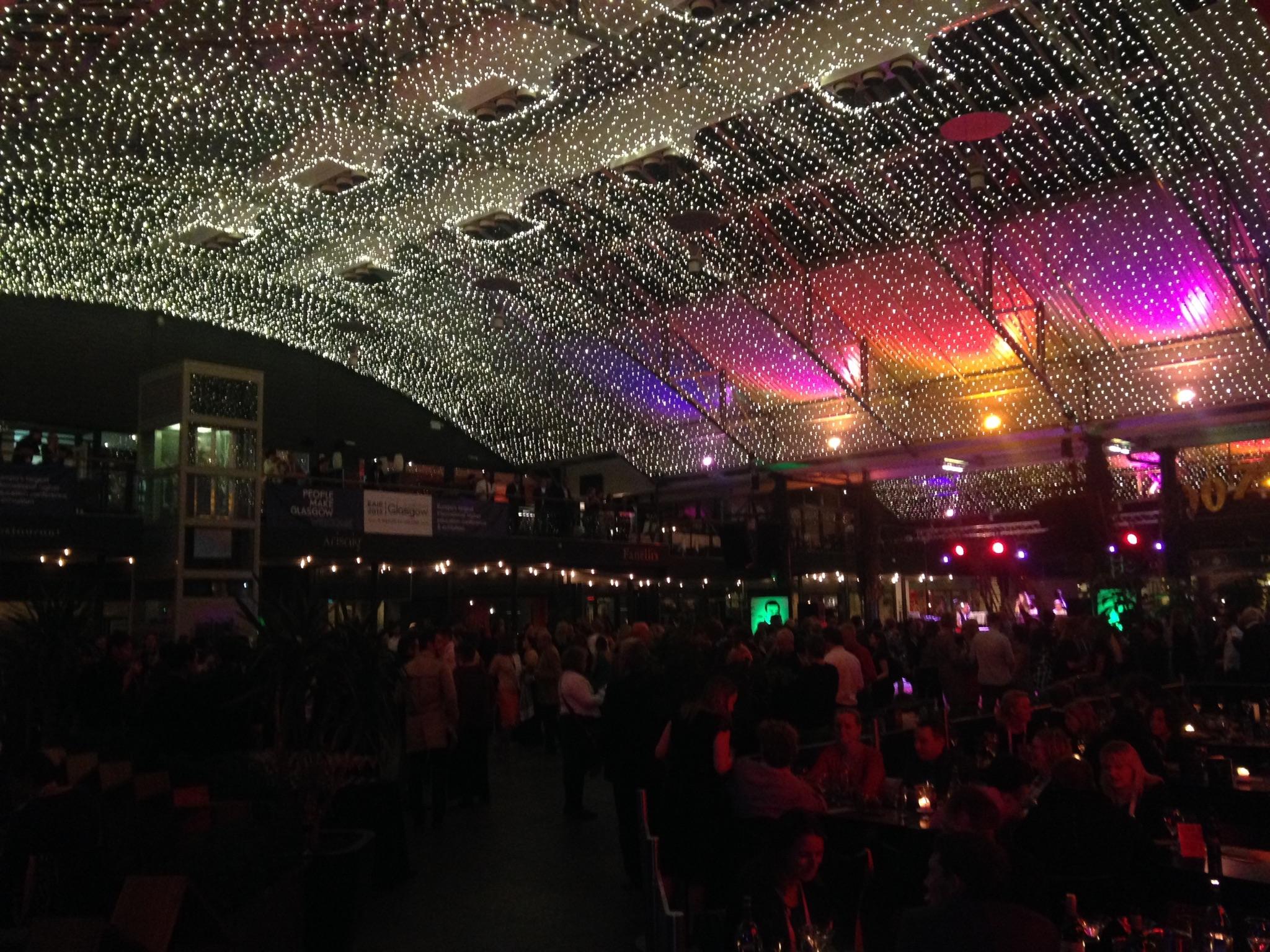 Bond-themed gala dinner in full swing!