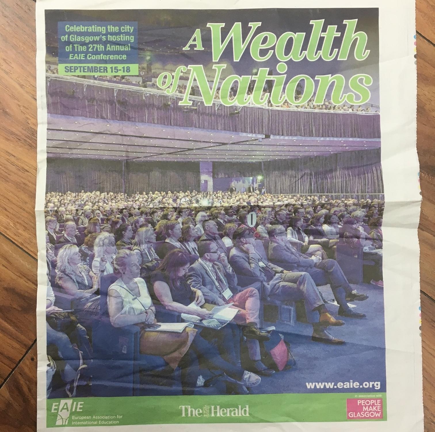 Supplement in the Glasgow Herald.