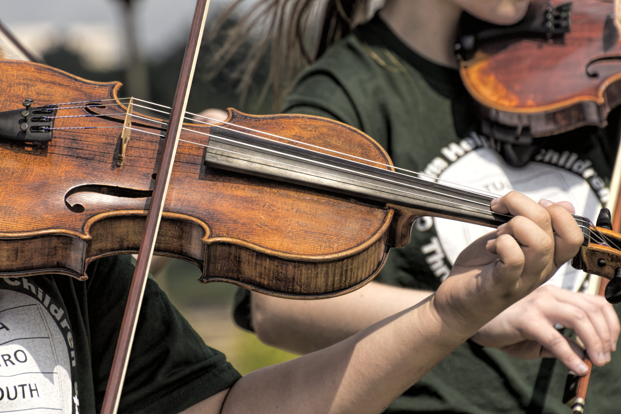 The Scottish Fiddle - not to be mistaken for the violin !