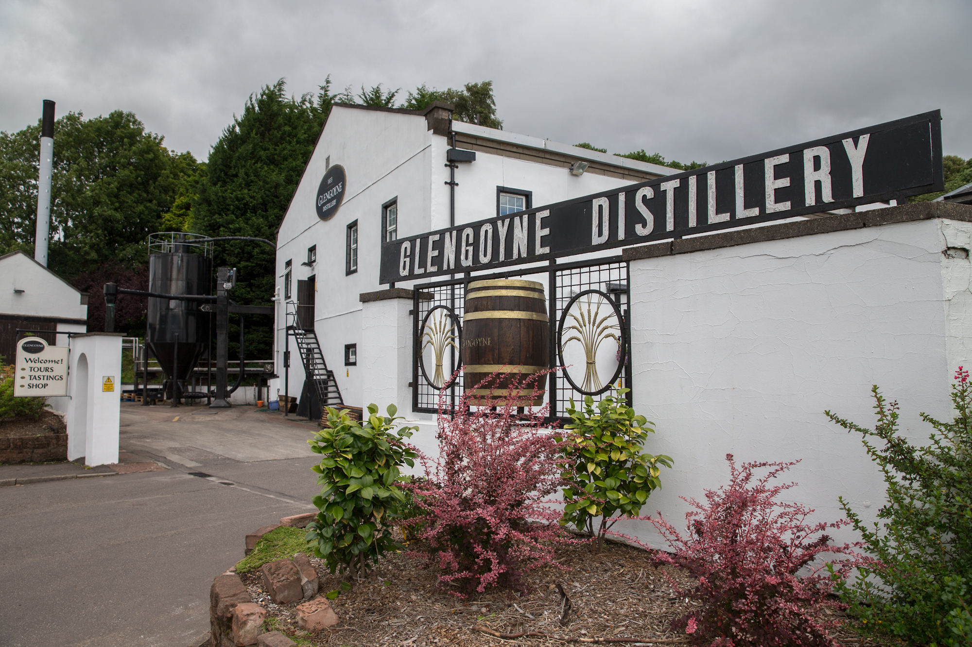 Glengoyne Distillery - only a 35 minute drive from Glasgow City Centre