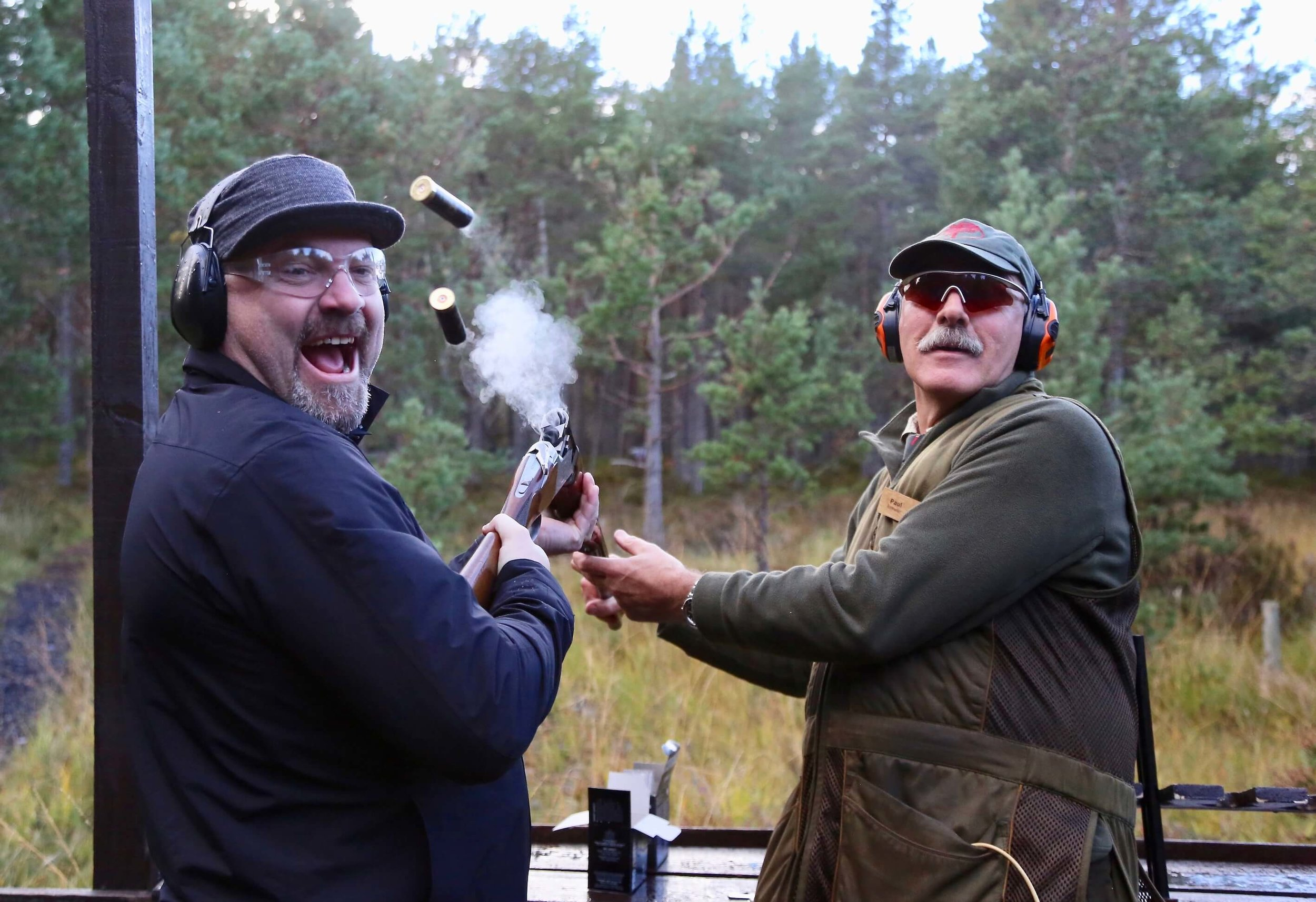 Clay shooting challenge