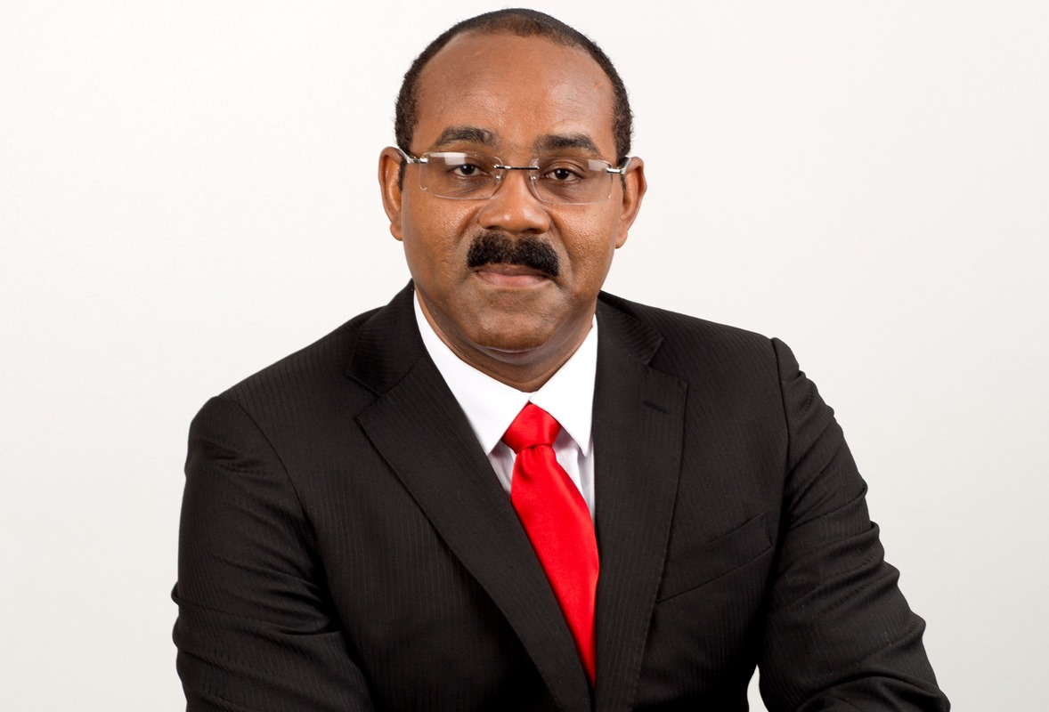Hon. Gaston Browne, Prime Minister and Minister of Finance or Antigua and Barbuda. Abolishment of income tax was one of his major promises during the electioneering in 2014.