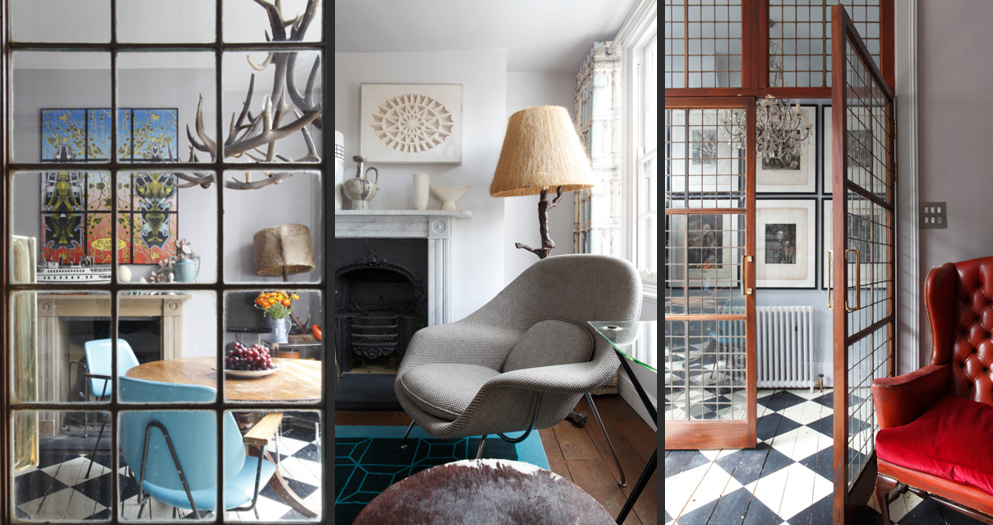 Shaun Clarkson's colourful Clerkenwell home