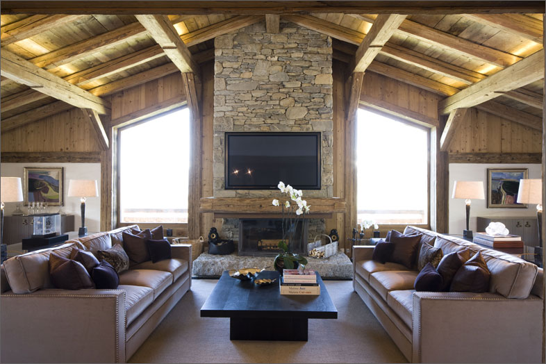 French Chalet Design by Rachel Laxer Interiors