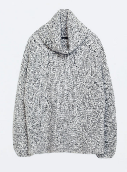 Mohair blend sweater- $39.99 (was $99.90)