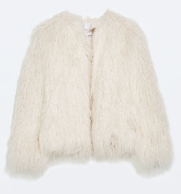 Faux fur jacket- $39.99 (was $149.90)