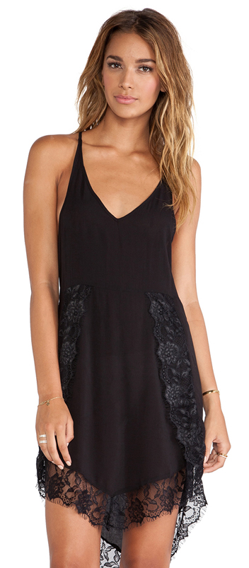 Free People eyelash slip dress- $20.99 (was $68)