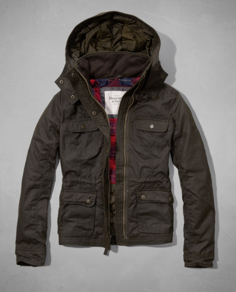 Waxed jacket- $104 (was $260)