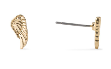 Angel wing stud earrings- $14.99 (was $70)