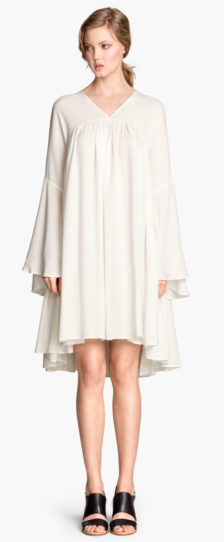 H&M wide cut dress- $59.90