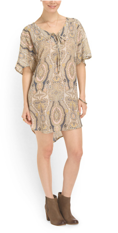 Gypsy 05 lace-up dress- $24 (was $242)