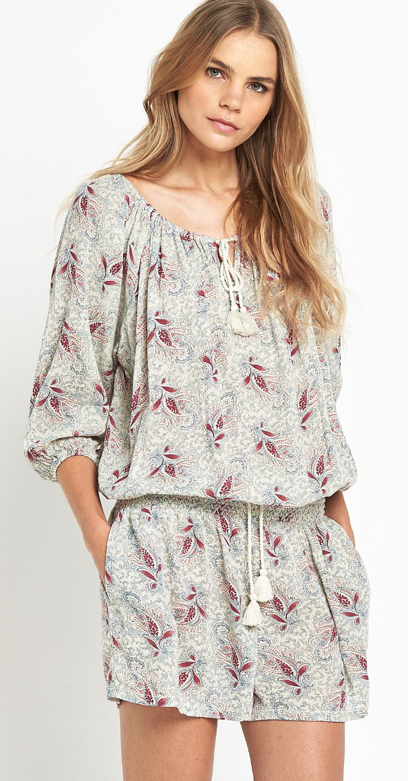 Denim & Supply paisley romper- $53.99 (was $125)
