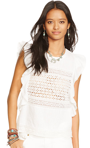 Denim & Supply eyelet top-  $44.99 (was $98)