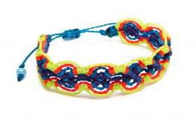 Waxed cotton friendship bracelets- $9 (was $18)