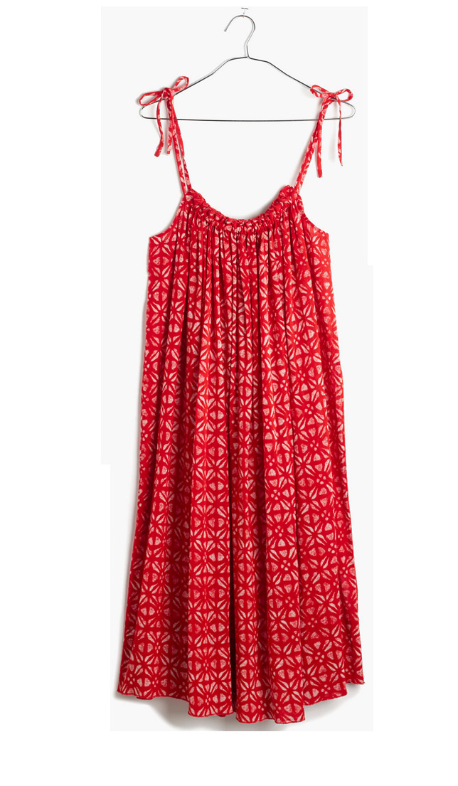 Madewell Oahu cover-up- $31.99 (was $88)