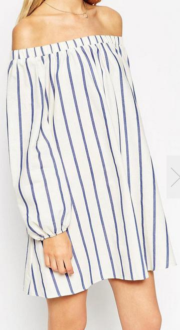 Romwe striped dress- $11.67