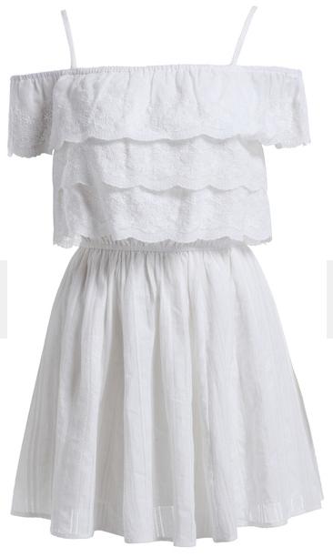Romwe cotton eyelet dress- $24.67