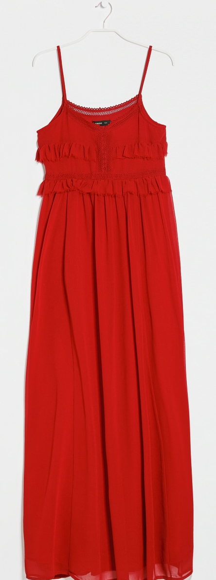 Crochet trim maxi dress- $19.99 (was $89.99)