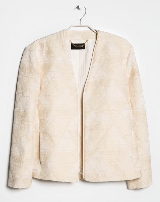 Jaquard jacket- $19.99 (was $119.99)