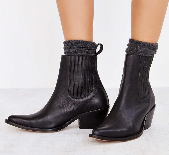 Ecote leather bootie- $24.99