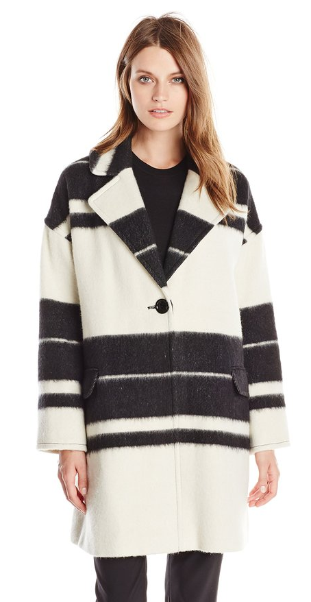 Helene Berman wool-blend coat- $85 (was $290)