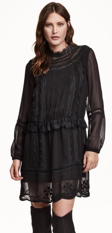Lace Mix Dress- $24.99 (was $59.99)
