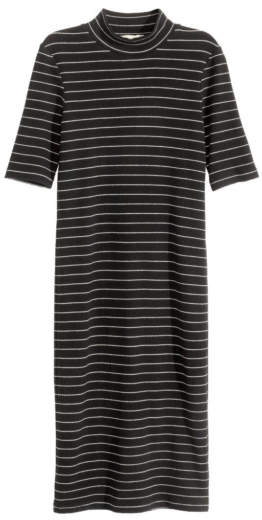 Ribbed Mock Neck Dress- $14.99 (was $39.99)