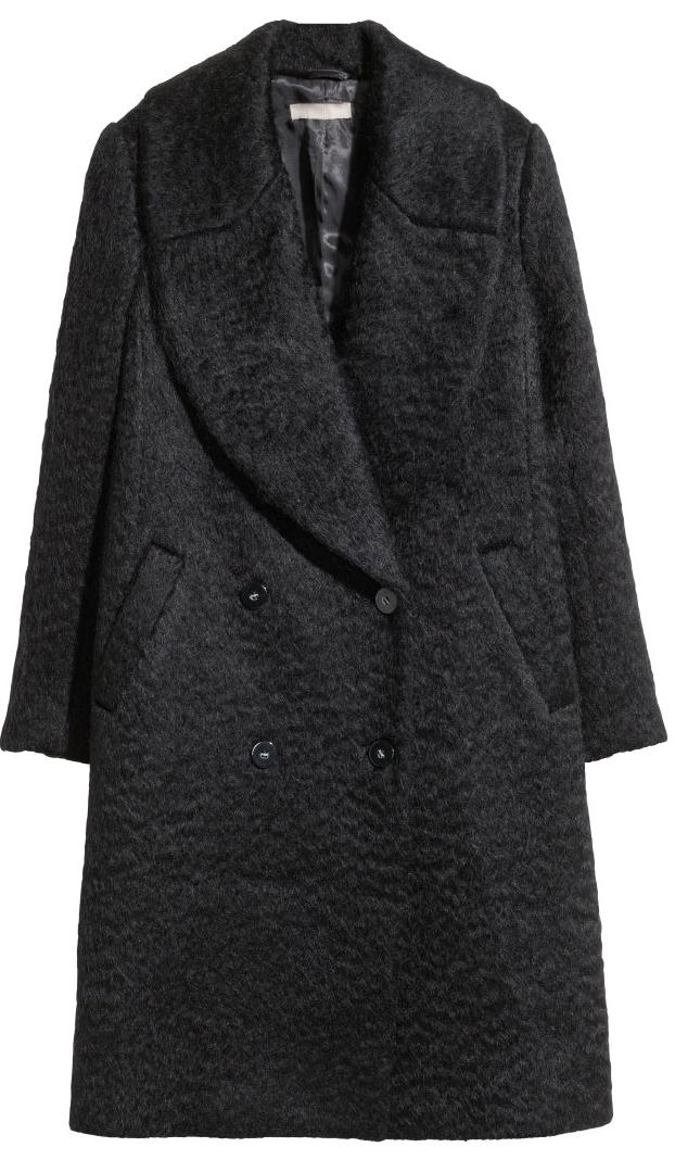Wool-Blend Coat- $79.99 (was $149)