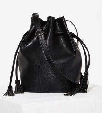 Vegan leather bucket bag- $24 (was $58)