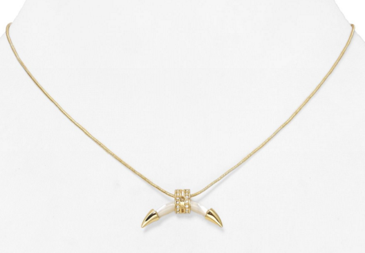 Rachel Zoe mini horn necklace- $22 (was $125)