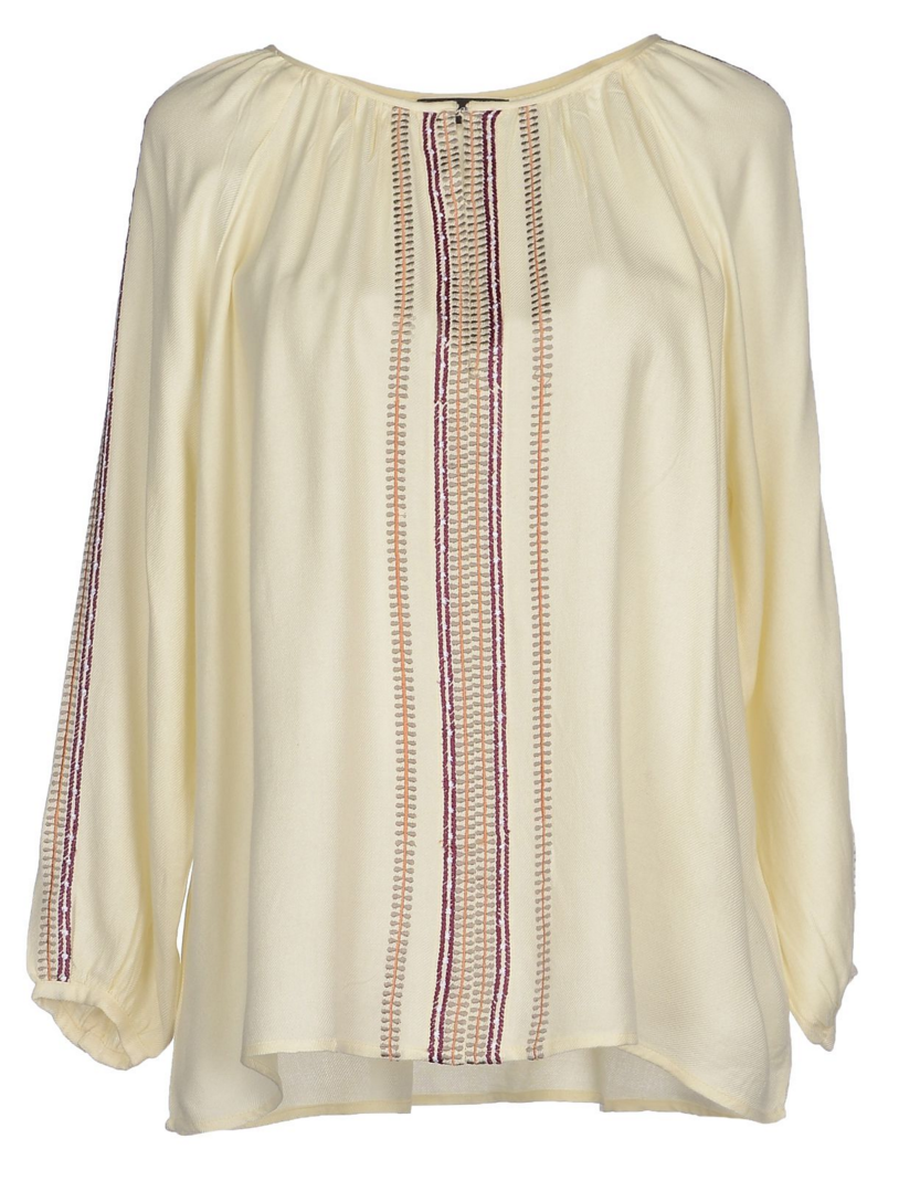 Antik Batik embroidered blouse- $36 (was $250)