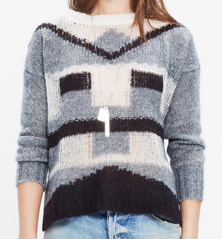 Sheerloft sweater- $20.99 (was $98)